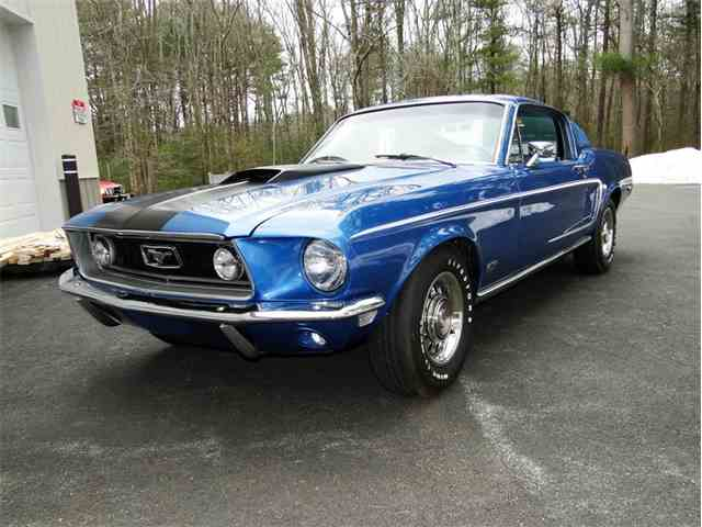 1968 ford mustang gt for sale on. Black Bedroom Furniture Sets. Home Design Ideas