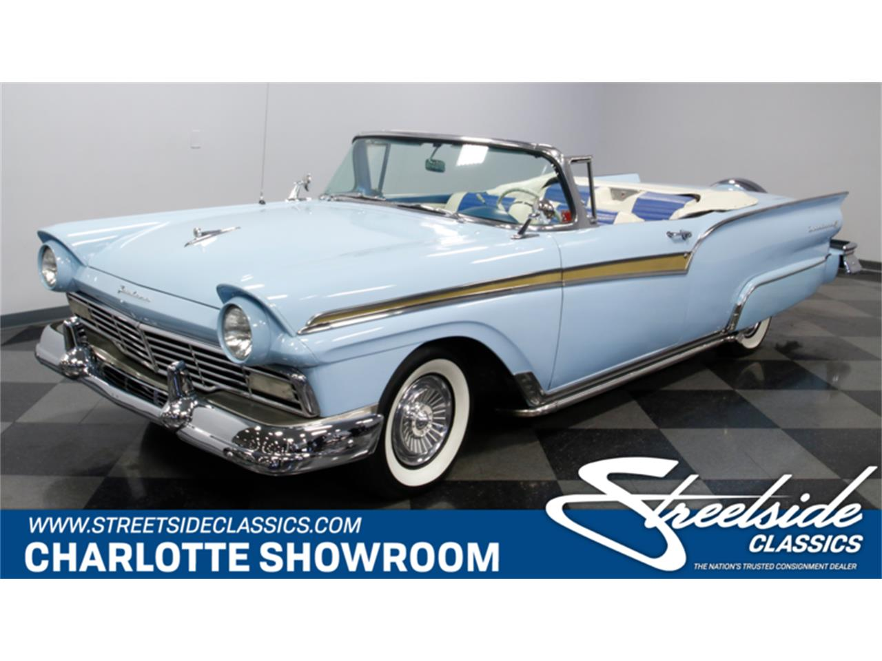 Large Picture of 1957 Ford Fairlane located in Concord North Carolina - $39,995.00 Offered by Streetside Classics - Charlotte - MZJ8