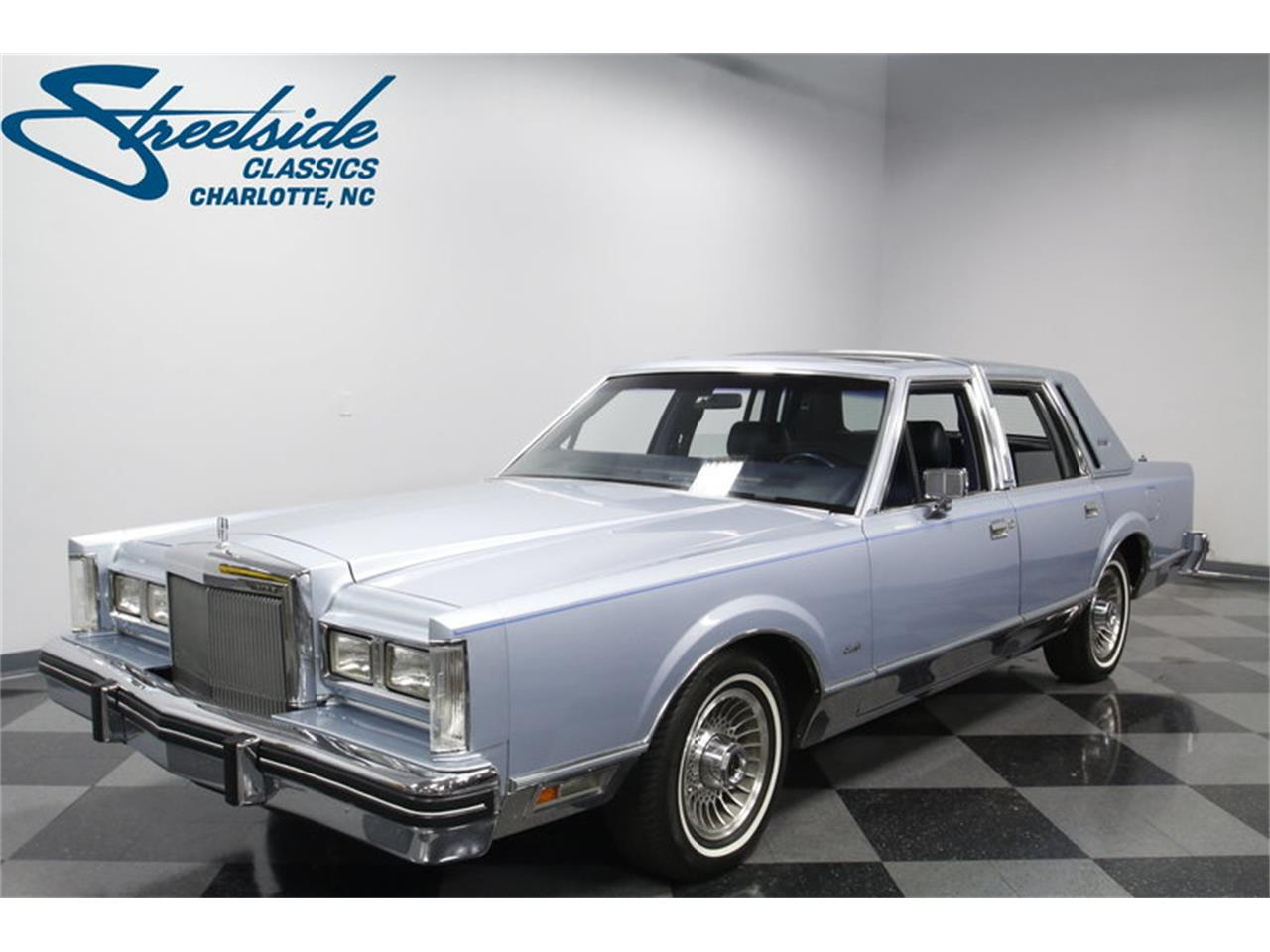 1984 Lincoln Town Car Signature Series For Sale Classiccars Com