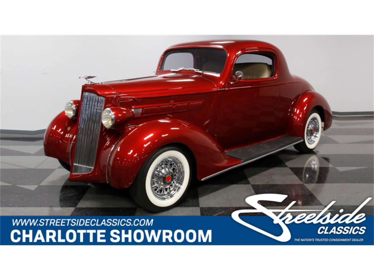 Large Picture of Classic '37 Packard 115 located in Concord North Carolina Offered by Streetside Classics - Charlotte - MZJZ