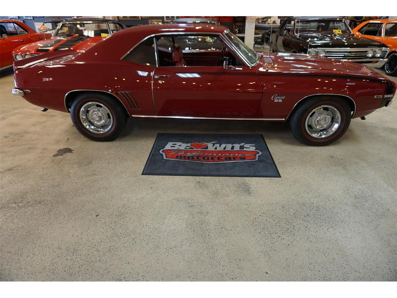 Large Picture of '69 Chevrolet Camaro located in Glen Burnie Maryland Offered by Brown's Performance Motorcars - MZKJ