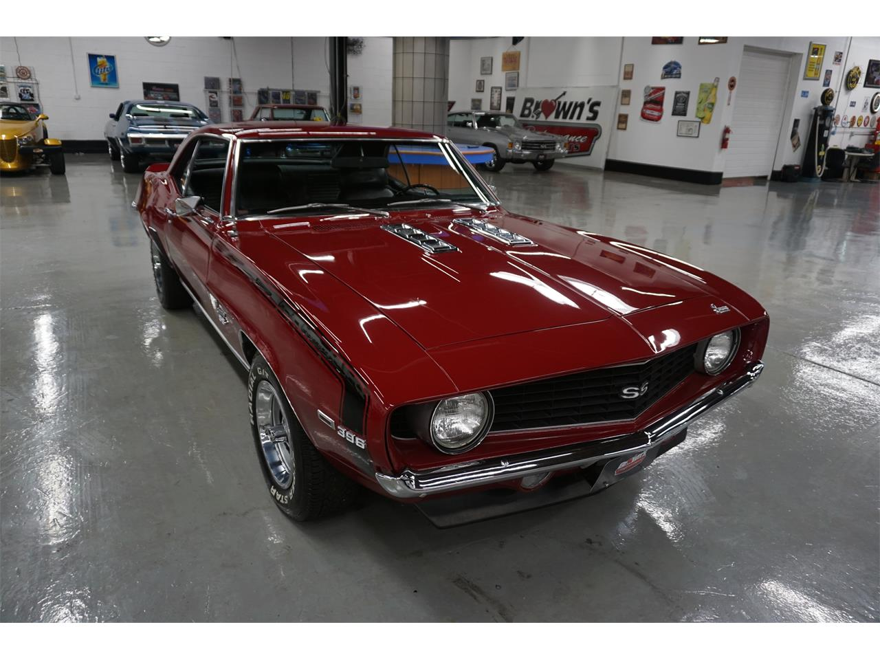 Large Picture of Classic 1969 Camaro located in Maryland - $42,900.00 Offered by Brown's Performance Motorcars - MZKJ
