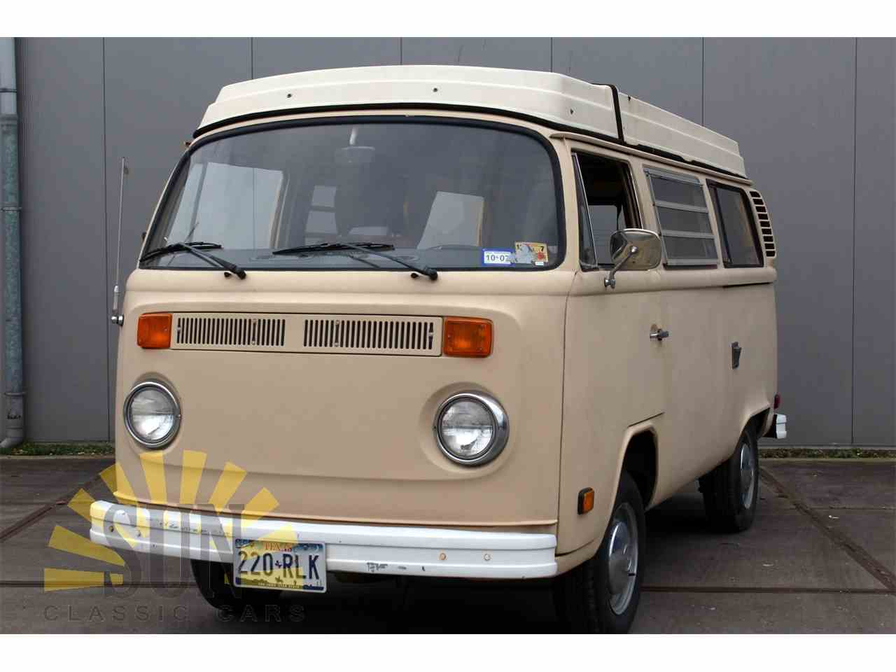1977 volkswagen bus for sale cc 1072573. Black Bedroom Furniture Sets. Home Design Ideas