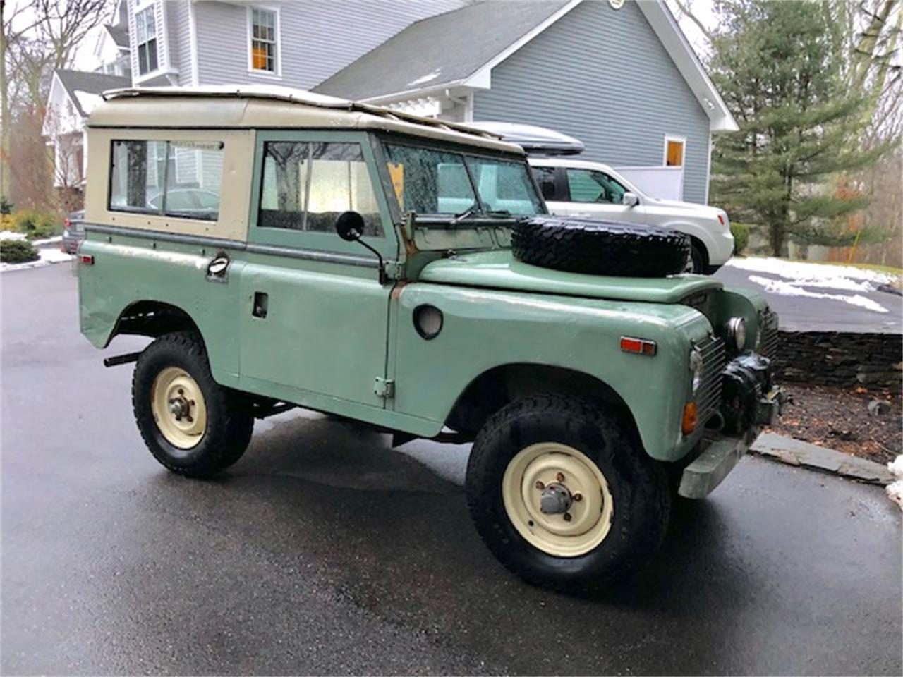 For Sale: 1973 Land Rover Series III in North Kingstown, Rhode Island