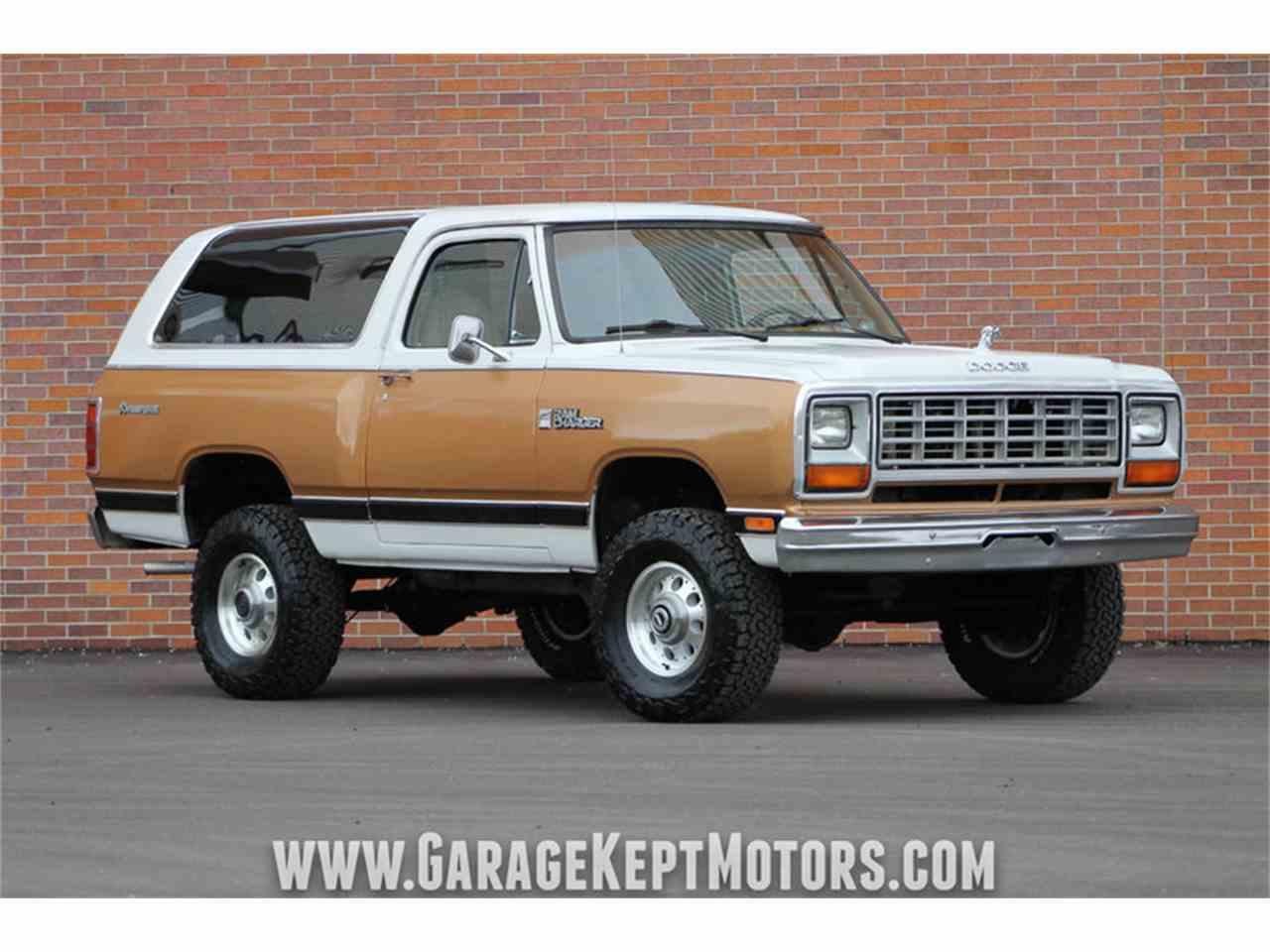 1985 Dodge Ramcharger Prospector 4x4 for Sale ...