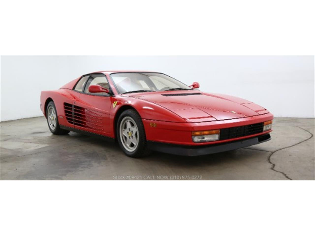 For Sale 1988 Ferrari Testarossa In Beverly Hills California