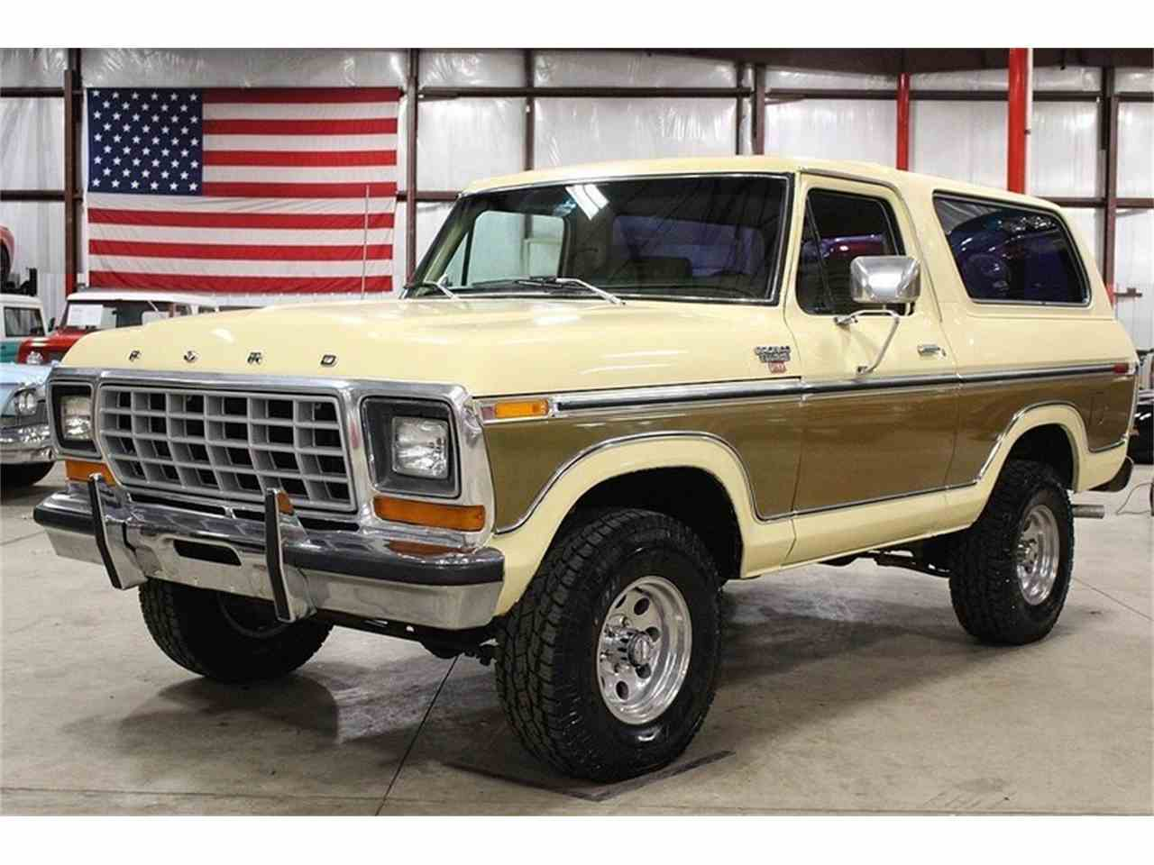 1979 ford bronco for sale cc 1072749. Black Bedroom Furniture Sets. Home Design Ideas