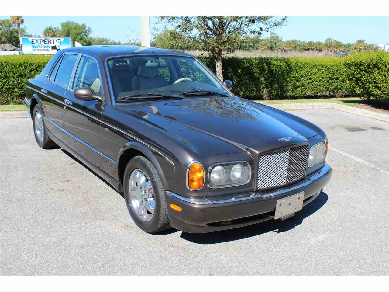 bentley arnage sale product info green sold label for