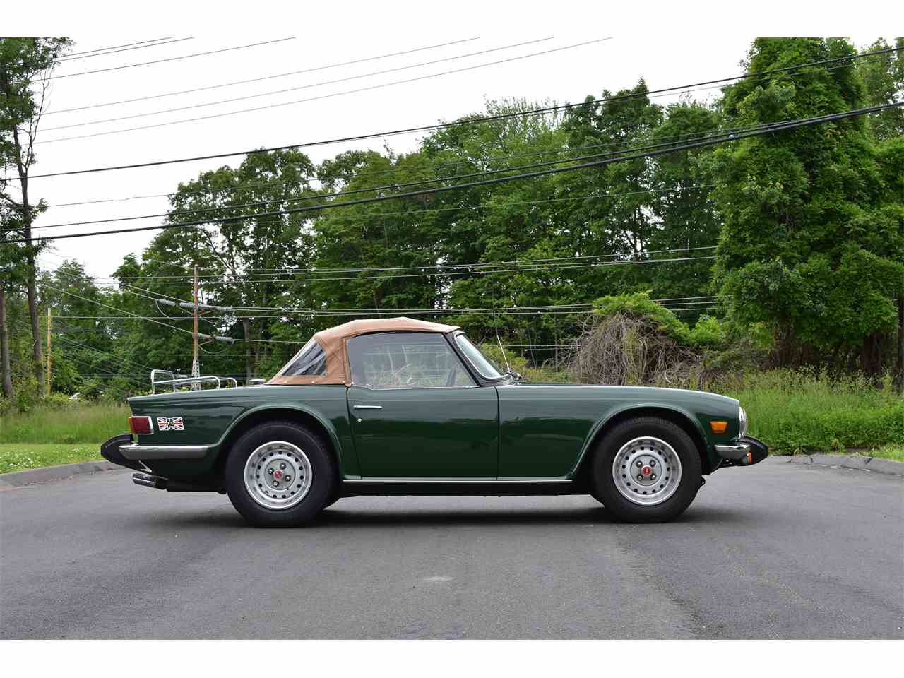 Large Picture of '76 TR6 - N022