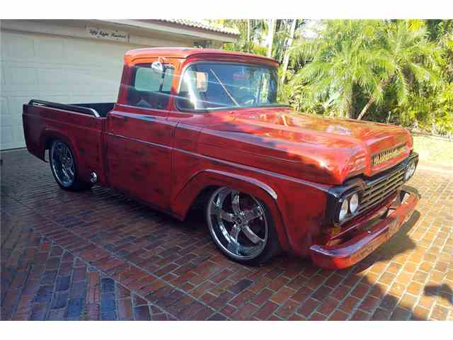Picture of Classic 1959 Ford F100 Auction Vehicle Offered by Barrett-Jackson Auctions - N04F