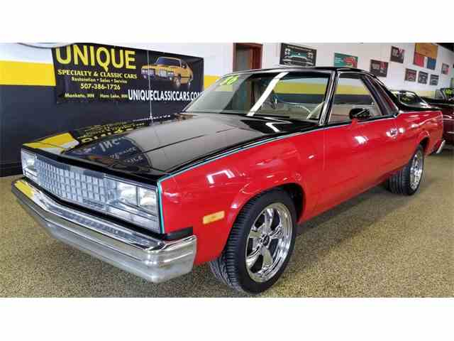 Picture of 1986 Chevrolet El Camino located in Minnesota Auction Vehicle Offered by Unique Specialty And Classics - N0F4