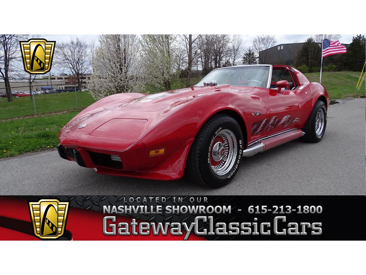 Large Picture of 1975 Chevrolet Corvette located in La Vergne Tennessee - N0FZ