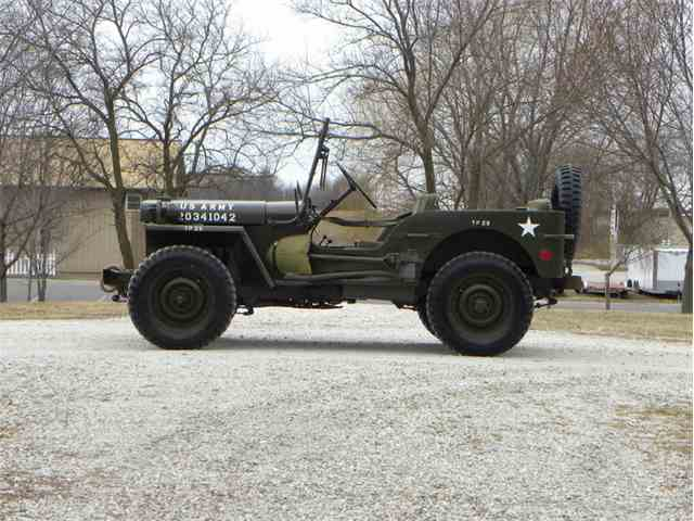 Picture of '42 GPW Jeep US Army Issue - N0GV