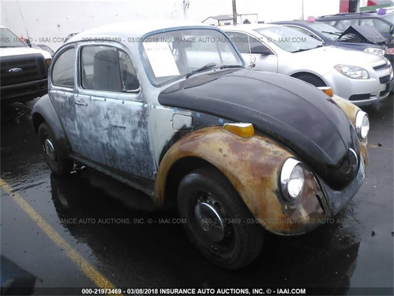 Large Picture of '72 Volkswagen Beetle Auction Vehicle Offered by SCA.AUCTION - N0KV