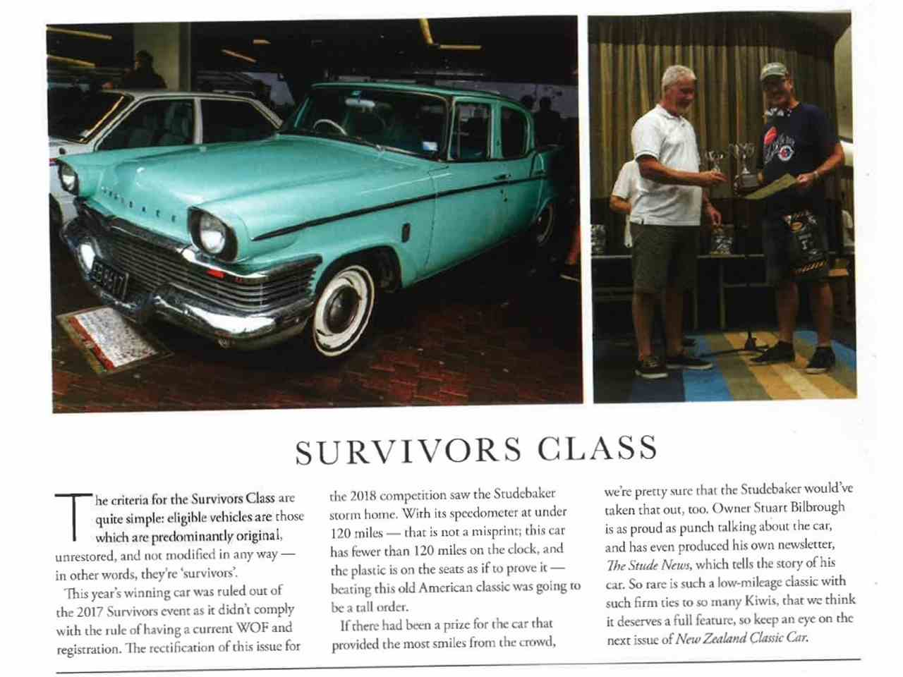 Large Picture of Classic '58 Studebaker Champion located in Auckland New Zealand Offered by a Private Seller - MXWY