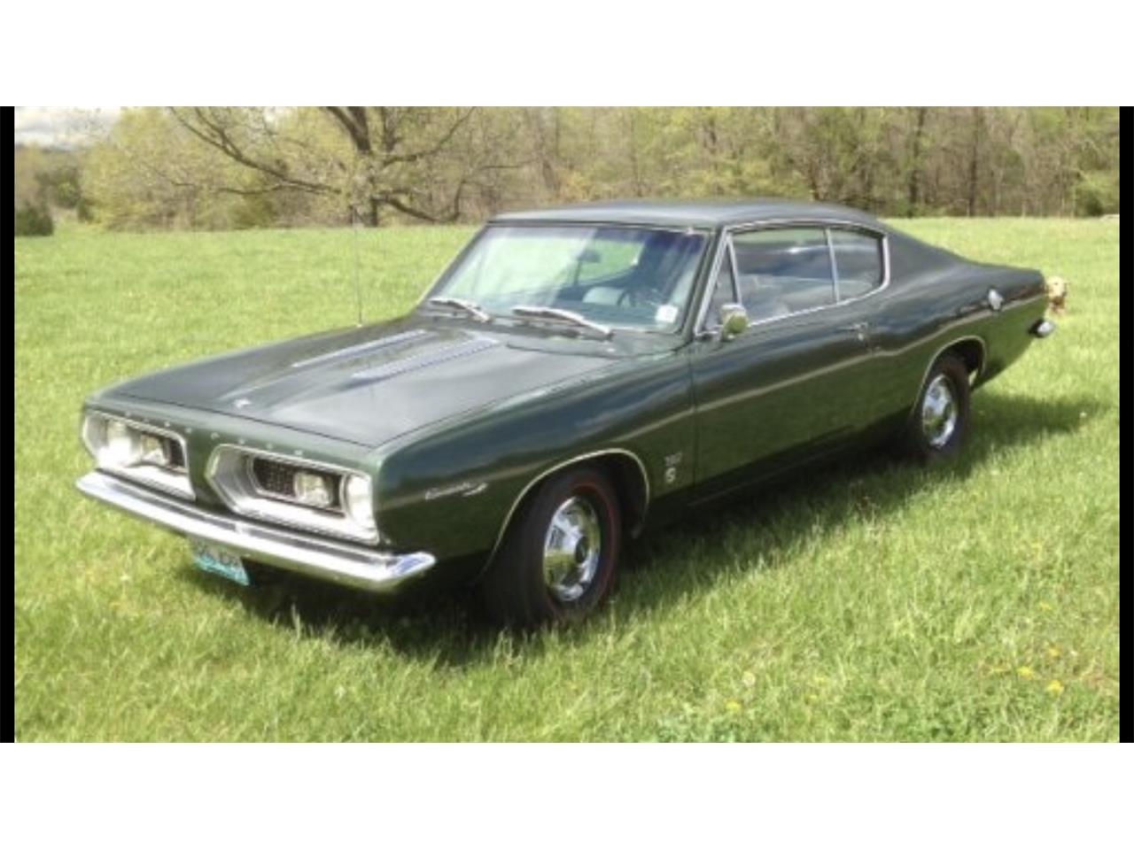 For Sale: 1967 Plymouth Barracuda in Jefferson City , Missouri