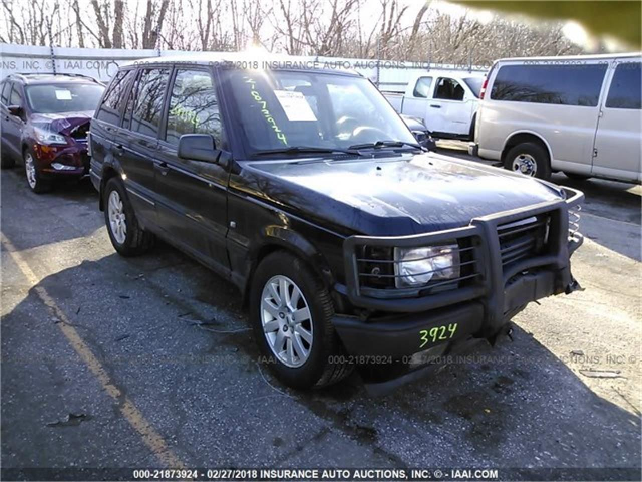 Large Picture Of 01 Range Rover N0pl