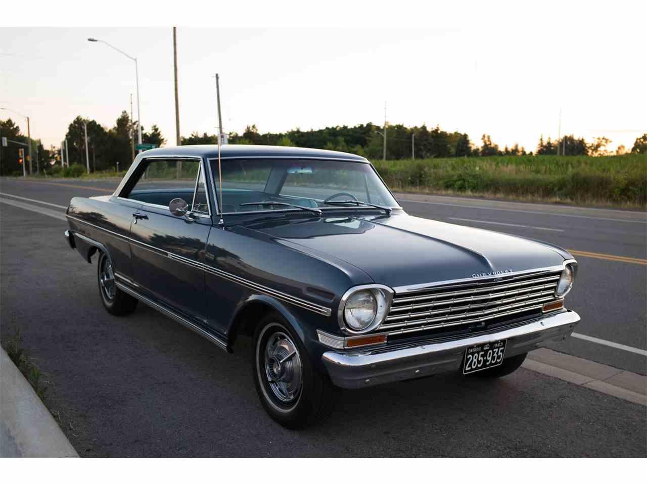 1963 Chevrolet Nova for Sale   ClassicCars.com   CC-1074131