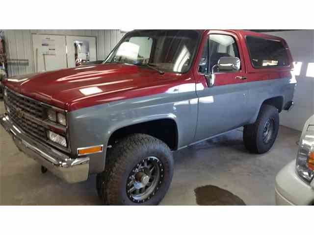 Classic chevrolet blazer for sale on classiccars picture of 90 blazer n0yj sciox Choice Image
