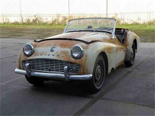 classic triumph tr3a for sale on. Black Bedroom Furniture Sets. Home Design Ideas