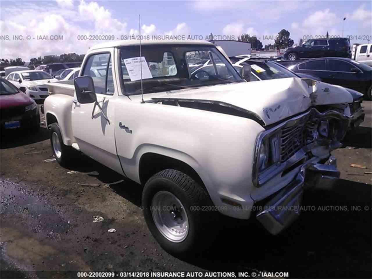 1978 Dodge D100 for Sale | ClicCars.com | CC-1074577