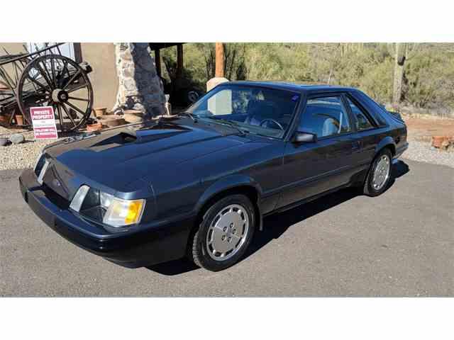 Picture of '84 Mustang SVO located in North Phoenix Arizona - $19,900.00 - MXZ6