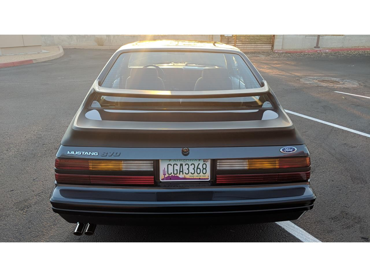 Large Picture of 1984 Ford Mustang SVO - MXZ6