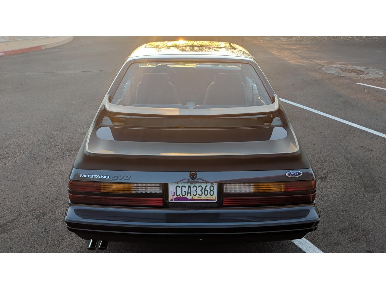 Large Picture of 1984 Ford Mustang SVO located in North Phoenix Arizona - MXZ6