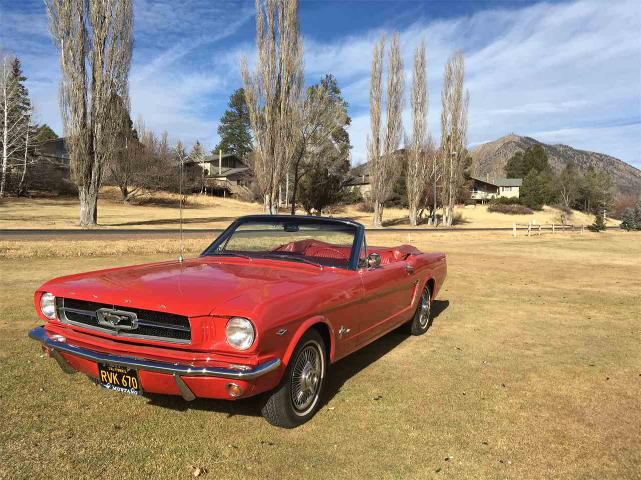 Large Picture of '64 Mustang Convertible - MXZA