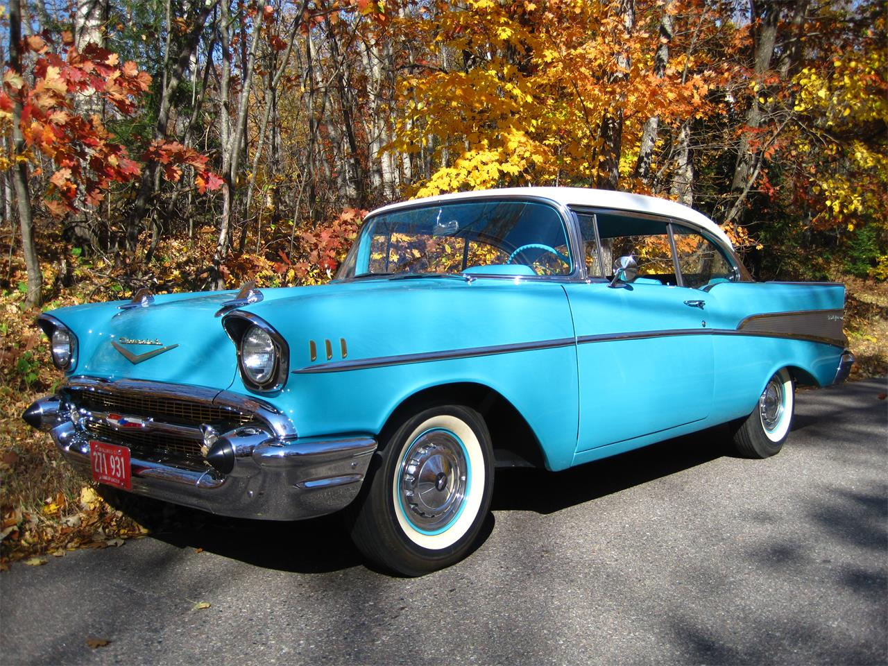 Large Picture of Classic '57 Chevrolet Bel Air - $55,500.00 - MXZH