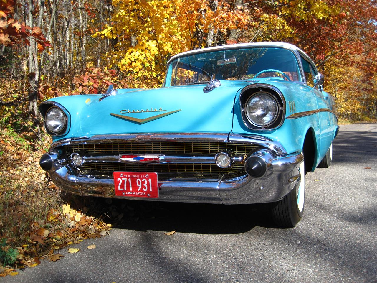 Large Picture of Classic '57 Bel Air located in Illinois Offered by a Private Seller - MXZH