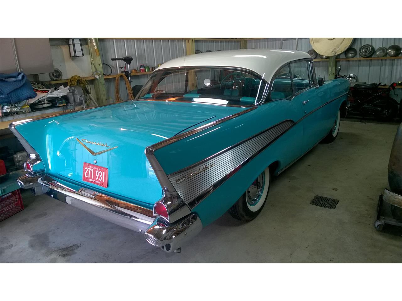 Large Picture of Classic 1957 Bel Air - $55,500.00 Offered by a Private Seller - MXZH