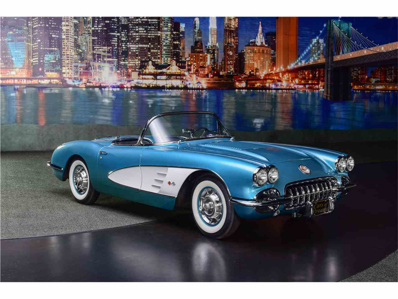 1958 chevrolet corvette for sale cc 1074840. Black Bedroom Furniture Sets. Home Design Ideas