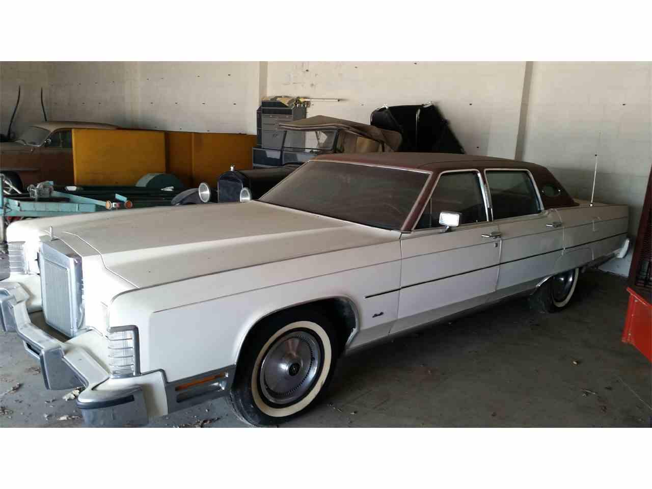 1977 Lincoln Town Car for Sale | ClicCars.com | CC-1074859