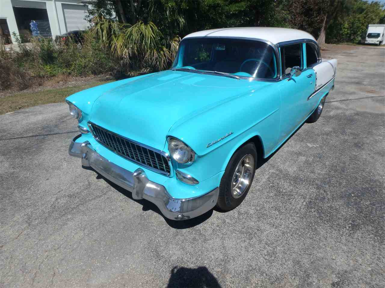 Large Picture of '55 Bel Air located in Ft Myers Florida - $29,900.00 Offered by More Muscle Cars - N1DQ