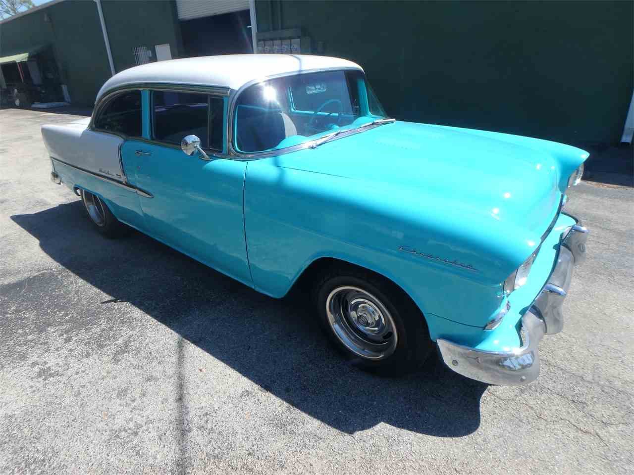 Large Picture of 1955 Chevrolet Bel Air located in Ft Myers Florida Offered by More Muscle Cars - N1DQ