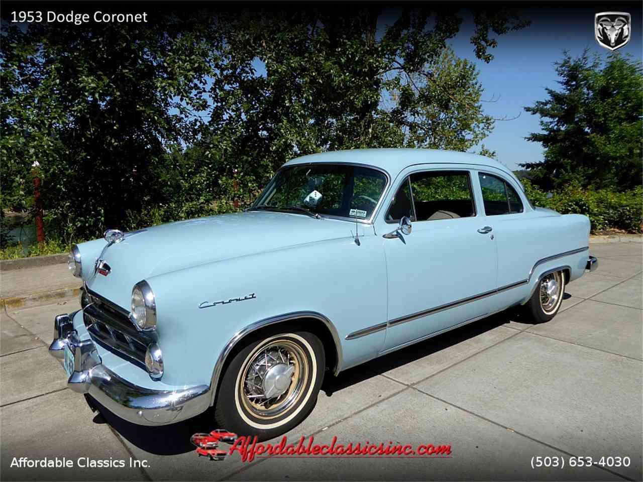 1953 Dodge Coronet for Sale   ClicCars.com   CC-1075188