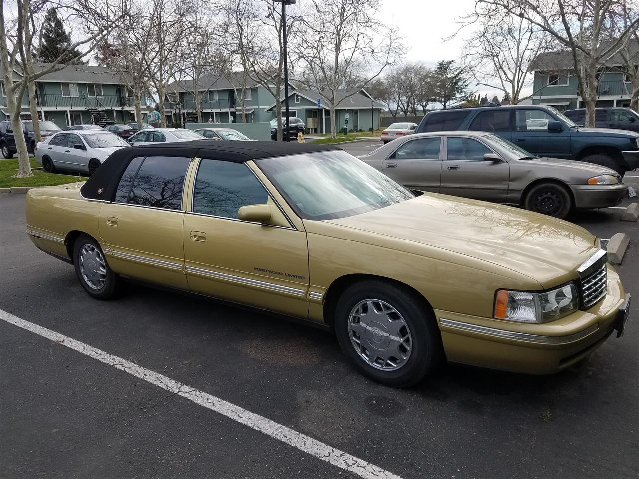 Large Picture Of 99 Cadillac DeVille Fleetwood Limited