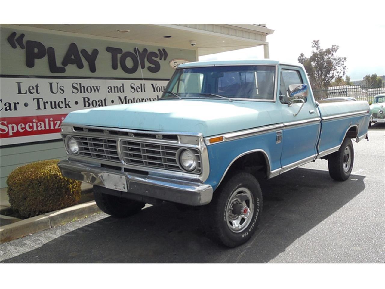 1973 ford f250 pickup truck