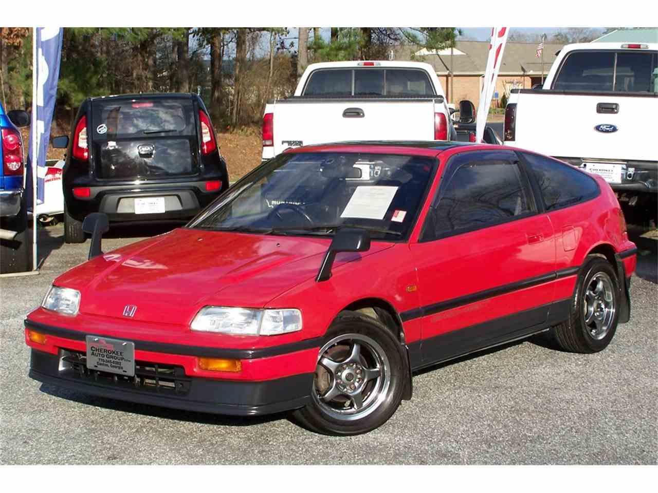 1991 Honda CRX for Sale | ClicCars.com | CC-1075301