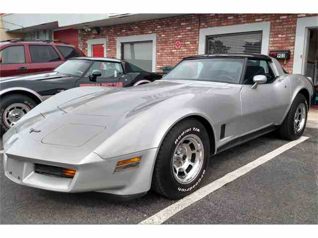 Picture of 1981 Corvette located in West Palm Beach Florida Auction Vehicle Offered by Barrett-Jackson Auctions - N1QG