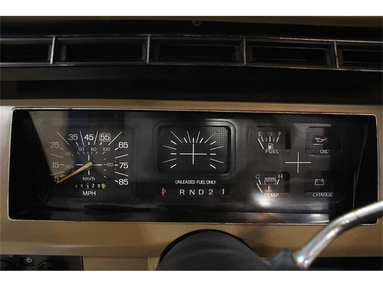 1982 Ford Bronco For Sale Cc 1075353 1980 Gauges Large Picture Of N1qx