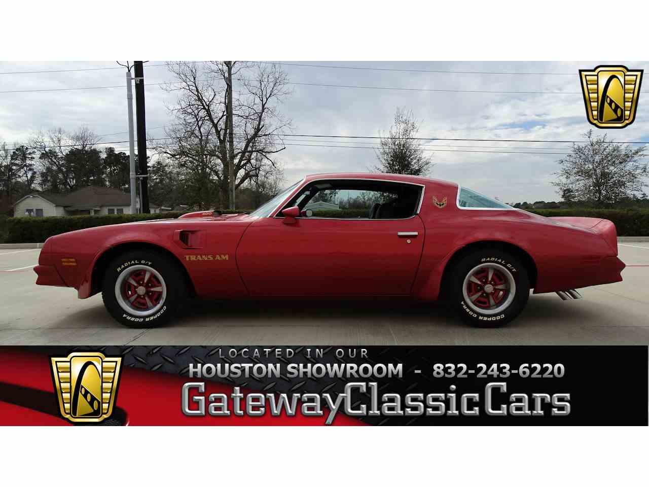 1976 Pontiac Firebird Trans Am for Sale   ClassicCars.com   CC-1075354
