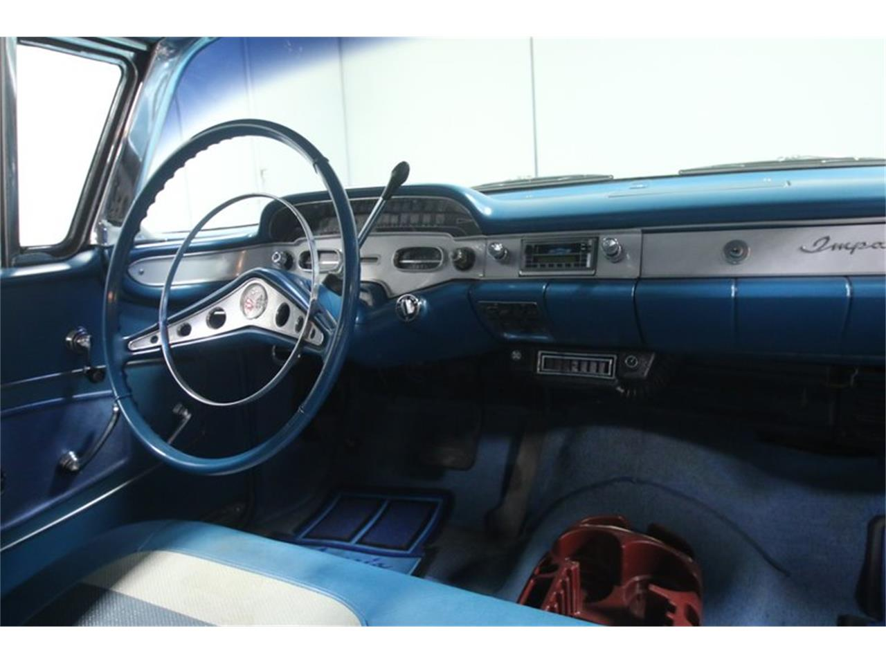 Large Picture of 1958 Chevrolet Impala located in Georgia - $45,995.00 Offered by Streetside Classics - Atlanta - N1VE