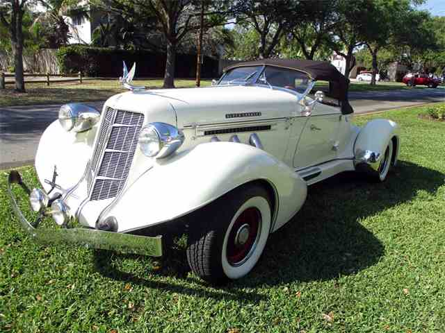 Picture of Classic 1935 Auburn Boattail located in Florida - $54,900.00 Offered by  - N24C