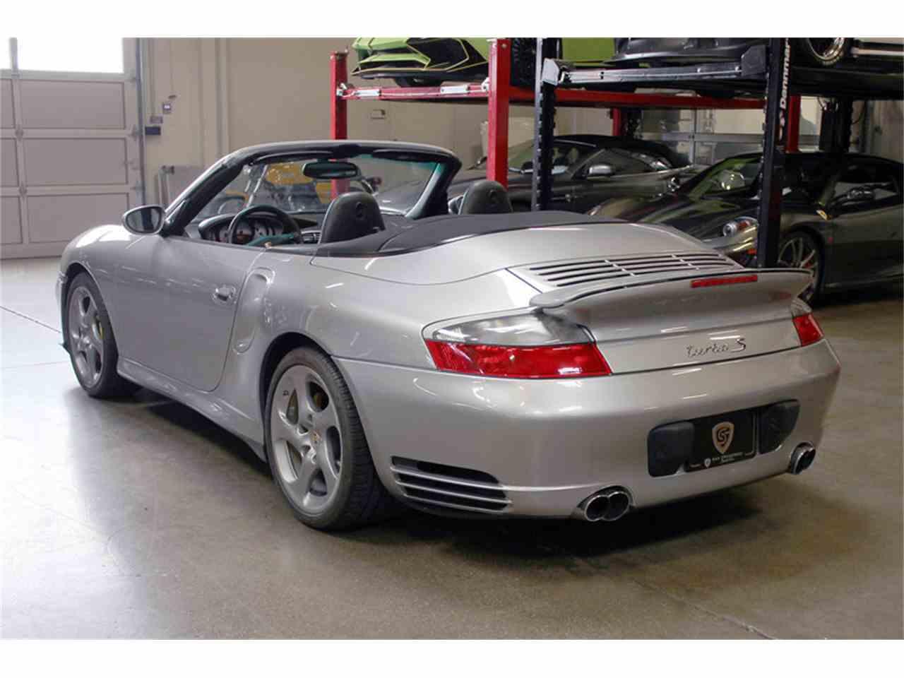2005 porsche 911 turbo s cabriolet for sale cc 1070591. Black Bedroom Furniture Sets. Home Design Ideas