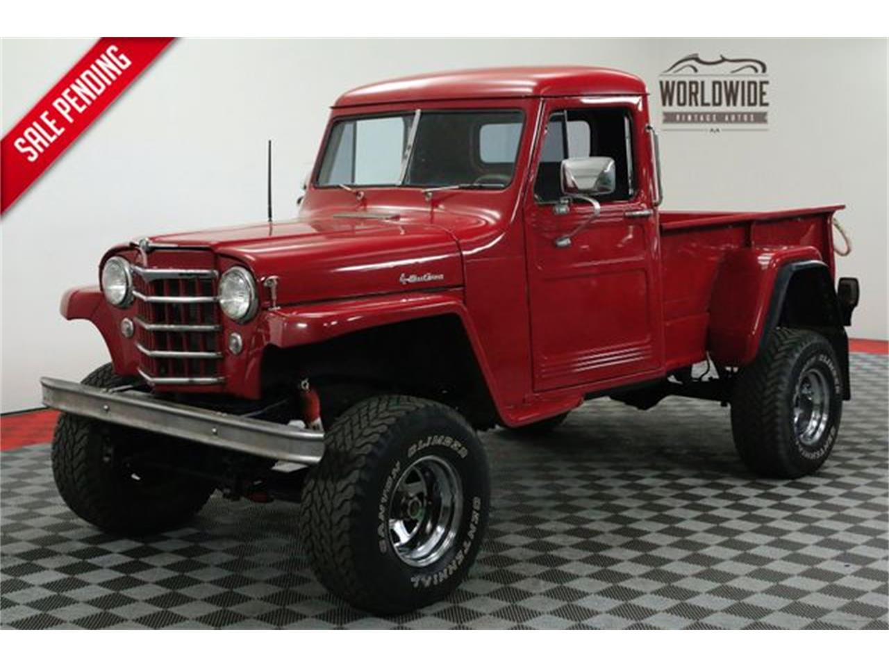 Willys Jeep Truck For Sale >> For Sale 1952 Jeep Willys In Denver Colorado