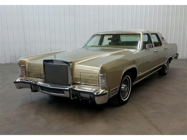 1978 To 1980 Lincoln Town Car For Sale On Classiccars Com