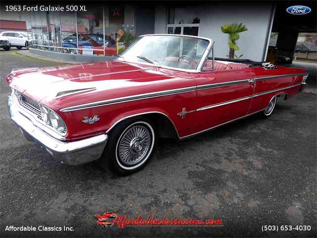 Picture of Classic '63 Ford Galaxie 500 XL Offered by Affordable Classics Inc - N29K