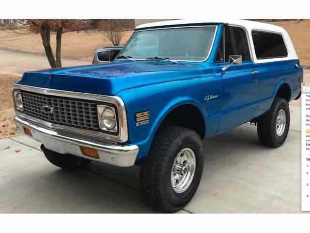 Picture of '72 Blazer - N2A4